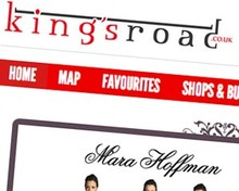 King's Road website