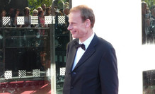 Andrew Marr at the BAFTAs