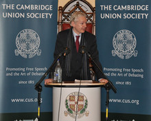 Assange Cambridge