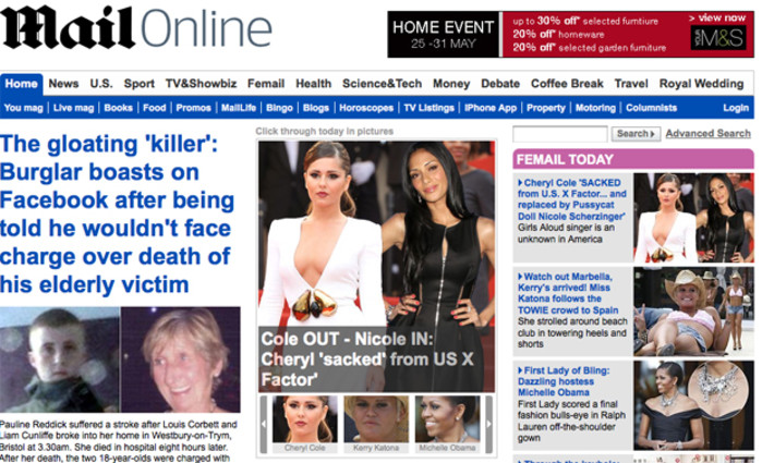 Mail Online expected to become world's most popular news website