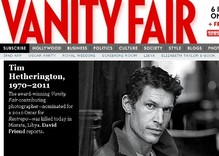 Tim Hetherington Vanity Fair tribute