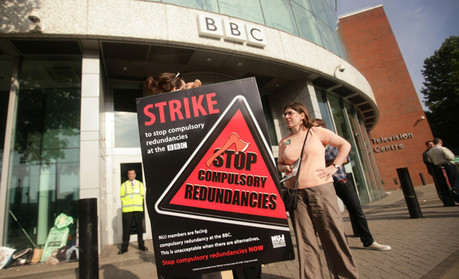 BBC Strike July 2011