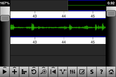 iPhone video editing - audio levels