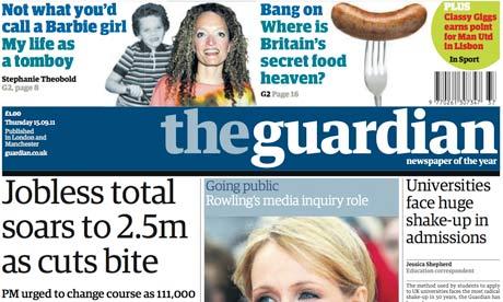 Guardian to raise weekday price to £1.20 | Media news