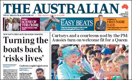 the australian to launch paywall on monday media news