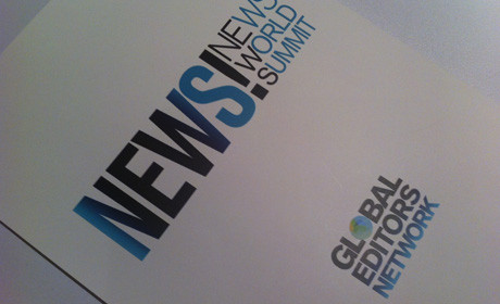 News Summit leaflet