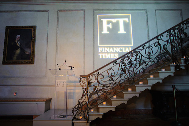 FT logo on wall