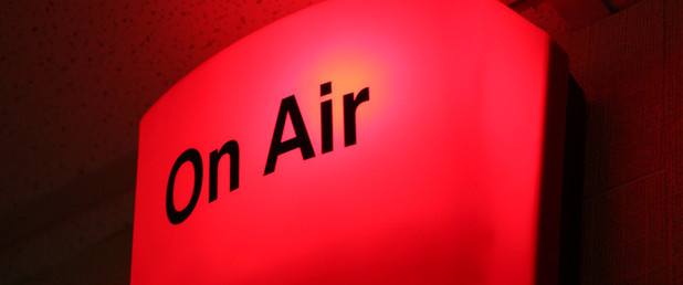 On Air radio light