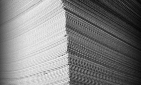 Piles of paper - large