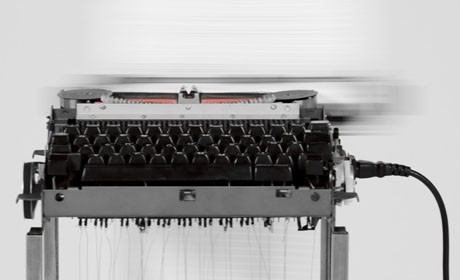 Typewriter moving image