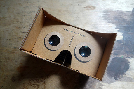 cardboard virtual reality viewer