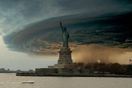 fake storm