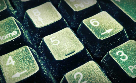 Keyboard numbers