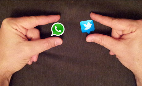whatsapp twitter