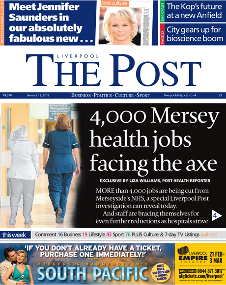 Liverpool Daily Post Relaunches As Weekly Title Media News