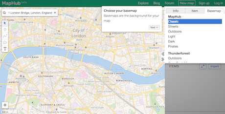 How To Create Interactive Maps With MapHub Media News - Create map with multiple pins