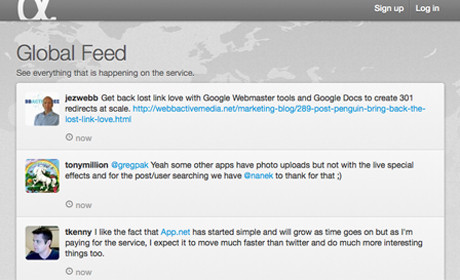 App.net global feed