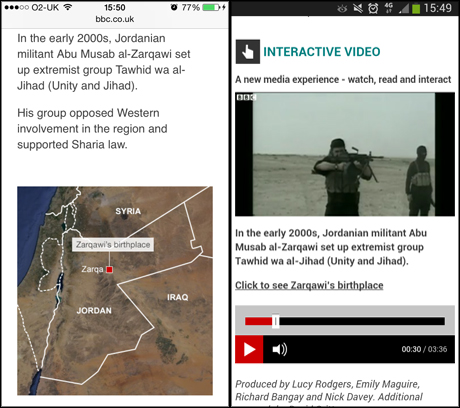 bbc isis mobile