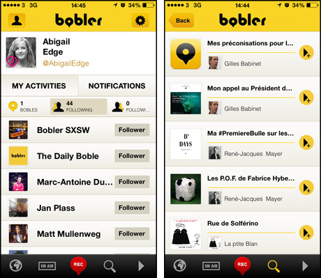 Bobler - app for journalists
