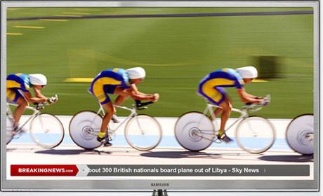 BreakingNews launches TV ticker app   Media news
