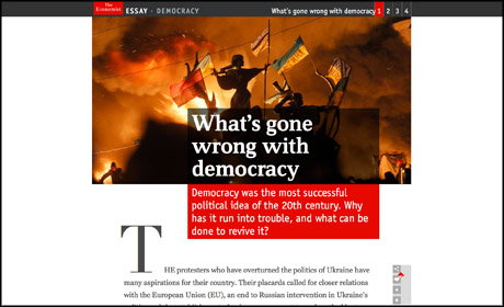 Economist Essay Democracy