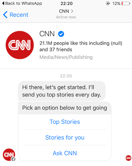 We curate, you query': Inside CNN's new Facebook Messenger