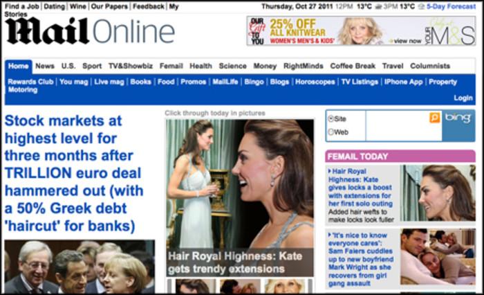 Newspaper sites see traffic drop across the board   Media news