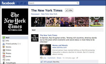 New York Times Facebook