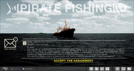 Pirate Fishing Interactive