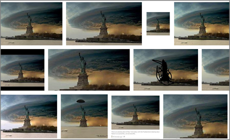 Fake Sandy pictures