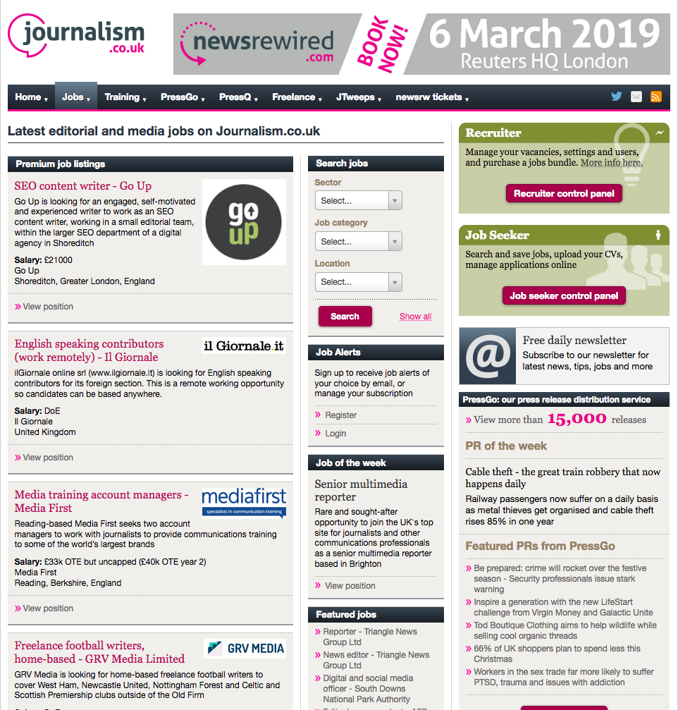 10 ways Journalism co uk can help you smash your 2019 career goals