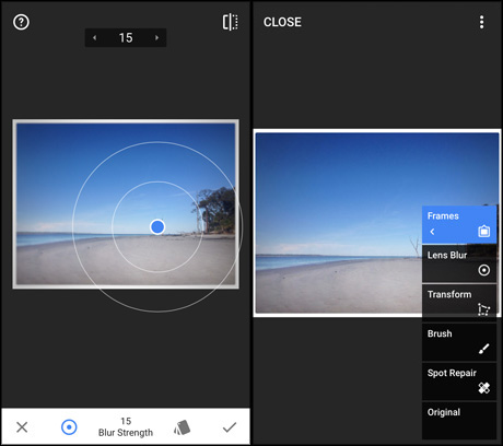 App for journalists: Snapseed, for smart photo editing