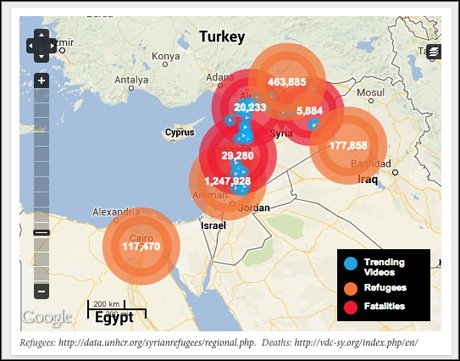Syria Deeply map