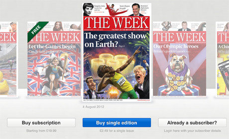 The Week iPad editions