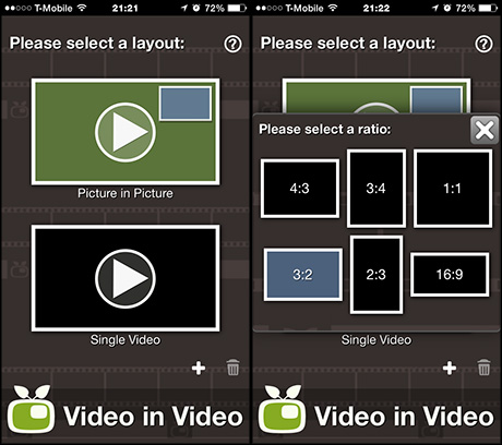 how to add video to camera roll itunes