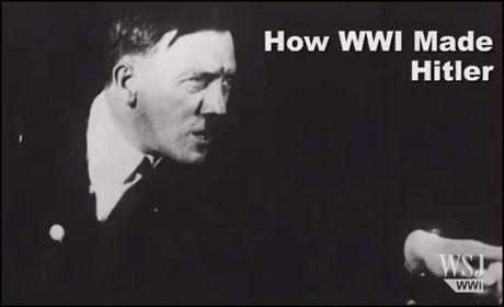 Wall Street Journal WWII interactive - Hitler