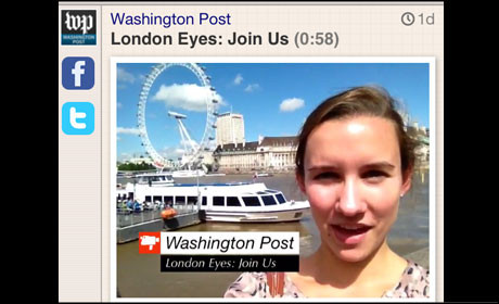 Washington Post Socialcam