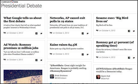 Washington Post Grid debates