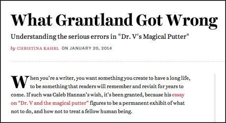 What Grantland Got Wrong