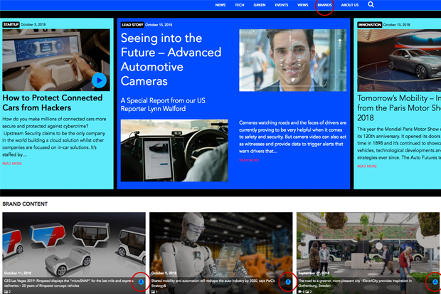 Tool for journalists: Auto Futures, the free digital hub for