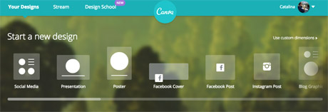 Creating images for social media with Canva   Media news