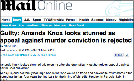 Mail Online Knox