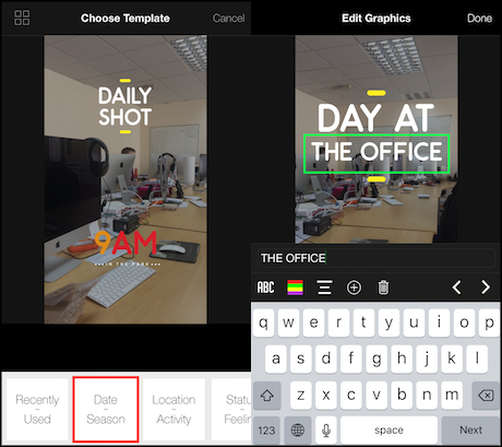 5 ios apps for adding text and graphics to your social videos with gravie you can only import video footage from your camera roll the app will then prompt you to select from a list of preset templates which include ccuart Gallery