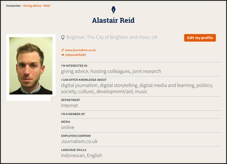 hostwriter profile