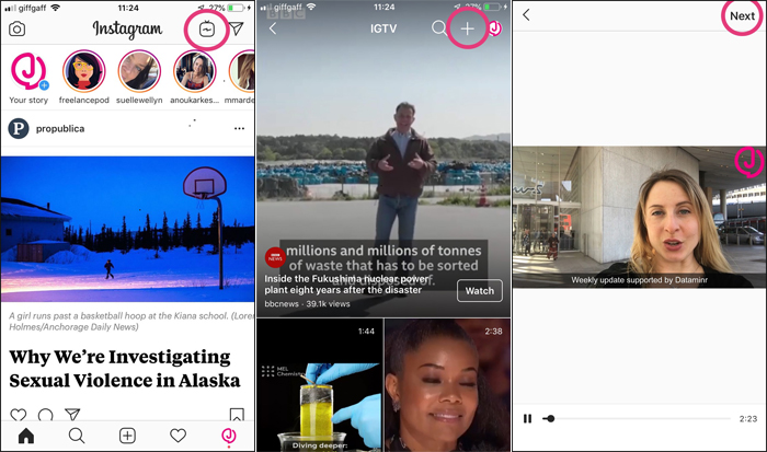 How to upload horizontal videos to Instagram's IGTV | Media news