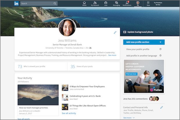 10 tips for setting up your LinkedIn profile | Media news