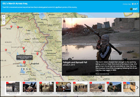 Tool For Journalists Create Interactives With Story Maps Media News - Esri story maps