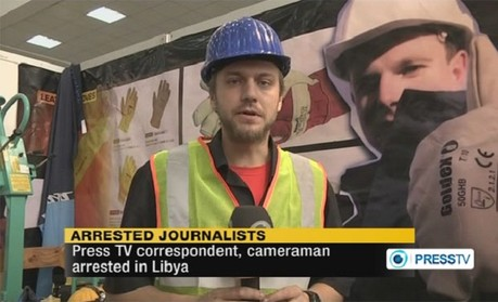Press TV arrested journalists Nicholas Davies and Gareth Montgomery-Johnson
