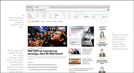 Reuters scraps new site after 2 years in development   Media