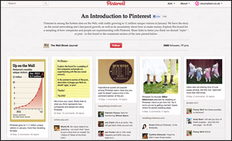 WSJ Pinterest guide